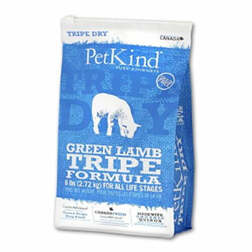 【送料無料】PetKind ペットカインド TripeDry グリーンラムトライプ  11.34kg