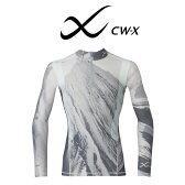 【メンズ】[ワコール]CW-X 柔流 レボリューションタイプ ハーフジップロングスリーブシャツJAO002<男性用/スポーツ用インナーウェア>【wcl-cwx-mt】【n】【310】【n07】【p】【】