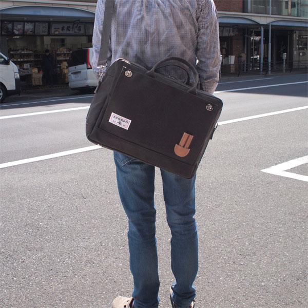 犬印鞄製作所『犬印純綿帆布ボストンバッグ(IN-50004)』