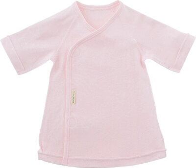 犬印本舗INUJIRUSHIBaby前開き短肌着フライス無地ピンクサックスホワイト5060サイズ出産祝い日本製赤ちゃんベビー用品洋服プレゼント贈り物女の子男の子