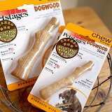 【Petstages】ウッディ・タフ・スティック/スモール(写真右)●天然木チップで固めた安心おもちゃ。【犬 おもちゃ】【おうち時間】
