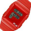 フィラ FILA クオーツ デジタル 腕時計 38-105-002 レッド メンズ