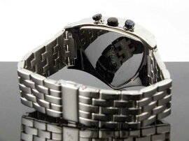 コグCOGUアシンメトリークロノグラフ腕時計C43M-BKブラック