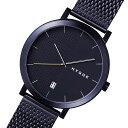 【ポイント5倍】(〜1/31) ピーオーエス POS ヒュッゲ 2203 クオーツ 腕時計 MSM2203BC(BK) ブラック メンズ