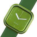 【ポイント5倍】(〜4/30) ピーオーエス POS ヒュッゲ バリ Vari Line クオーツ 腕時計 HGE020070 グリーン メンズ