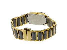 ジョンハリソンJOHNHARRISONクオーツ腕時計JH-030LBKレディース