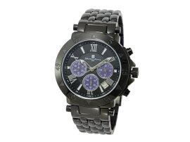 サルバトーレマーラSALVATOREMARRAクロノグラフ腕時計SM8005-IPBKPL