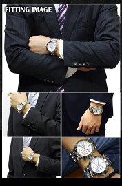 サルバトーレマーラSALVATOREMARRAクロノグラフ腕時計SM8005-SSWH