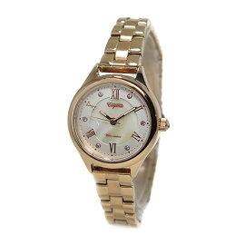 グランドールGRANDEURクオーツ腕時計ESL060M3ピンクゴールドレディース