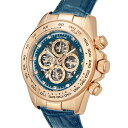 【ポイント5倍】(〜3/31) ゾンネ SONNE 自動巻き 腕時計 S159PG-NV スケルトン メンズ