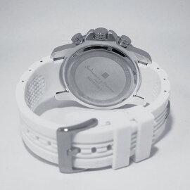 サルバトーレマーラSALVATOREMARRAクロノグラフクオーツ腕時計SM15109-WHBLブルーメンズ