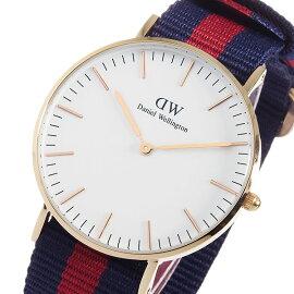 ダニエルウェリントンオックスフォード/ローズ36mmクオーツ腕時計0501DWレディース