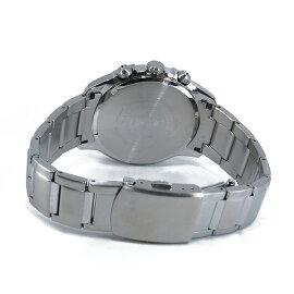 シチズンCITIZENクオーツクロノグラフ腕時計CA0370-54Eブラック/ブルーメンズ