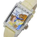 【お買い物マラソン】【ポイント10倍】(〜11/30)【キャッシュレス5%】ディズニーウオッチ Disney Watch 美女と野獣 腕時計 MK1208F レディース