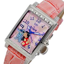 ディズニーウオッチDisneyWatchスティッチ腕時計MK1208Kレディース