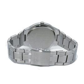 セイコーSEIKOソーラーブラックダイアルクオーツ腕時計SNE387P1ブラックメンズ