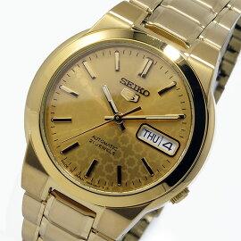 セイコーSEIKOセイコーSEIKOファイブSEIKO5自動巻き腕時計SNKD06J1ゴールドメンズ