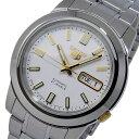 セイコー SEIKO セイコー SEIKOファイブ SEIKO 5 自動巻き 腕時計 SNKK07J1 ホワイト メンズ
