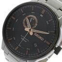 【ポイント2倍】(?11/30) (1年保証) セイコー SEIKO 腕時計 メンズ SSA389K1 自動巻き ブラック シルバー