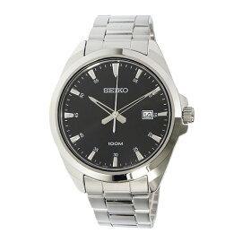 セイコーSEIKOクオーツ腕時計SUR209P1ブラックメンズ