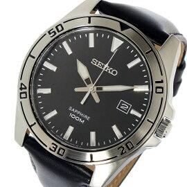 セイコーSEIKOクオーツ腕時計SGEH65P1ブラックメンズ