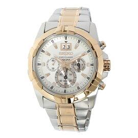セイコーSEIKOロードLORDクロノグラフクオーツ腕時計SPC188P1ホワイトメンズ