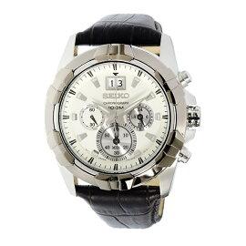 セイコーSEIKOロードLORDクロノグラフクオーツ腕時計SPC196P1ホワイトメンズ