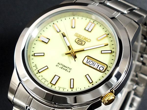 【期間限定】【ポイント2倍】(4/6 10:00?4/9 09:59) セイコー SEIKO セイコー5 SEIKO 5 自動巻き 腕時計 SNKK19J1 メンズ
