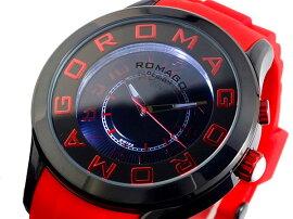 ロマゴROMAGOATTRACTION腕時計RM015-0162PL-BKRDユニセックス
