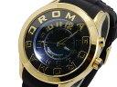 【ポイント10倍】(〜3/31) ロマゴ ROMAGO ATTRACTION クオーツ 腕時計 RM015-0162PL-GDBK ユニセックス