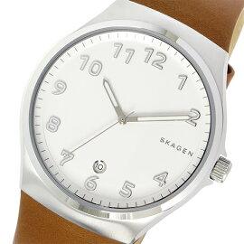 スカーゲンSKAGENスンドビーSUNDBYクオーツ腕時計SKW6269ホワイトメンズ