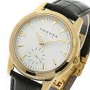 【ポイント10倍】(〜2/28) トモラ TOMORA TOKYO クオーツ 腕時計 T-1602-GDWH ホワイト メンズ