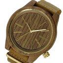 【ポイント5倍】(〜1/31) ウィーウッド WEWOOD 木製 TORPED NUT LEATHER トーピド レザー 腕時計 9818111 ブラウン 国内正規 メンズ