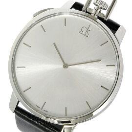 カルバンクラインCalvinKleinエクセプショナルクオーツ腕時計K3Z211.C6シルバーメンズ