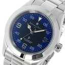 【ポイント5倍】(〜3/31) サルバトーレマーラ SALVATORE MARRA 電波ソーラー クオーツ 腕時計 SM16113-SSBLSVA ブルー メンズ