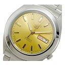 セイコー SEIKO セイコー5 SEIKO 5 自動巻き 腕時計 SNKM63K1 ゴールド メンズ