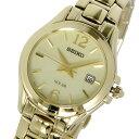 セイコー SEIKO ソーラー クオーツ 腕時計 SUT236P1 ゴールド レディース