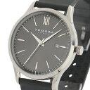 【ポイント10倍】(〜1/31) トモラ TOMORA TOKYO ラバーベルト クオーツ 腕時計 T-1605-SGY グレー メンズ
