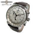 ツェッペリン ZEPPELIN 100周年記念 クオーツ クロノグラフ 腕時計 7680-1 メンズ