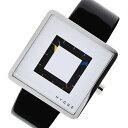 【ポイント5倍】(〜4/30) ピーオーエス POS ヒュッゲ クオーツ 腕時計 MSL2089BKWH ホワイト メンズ