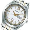 セイコー SEIKO スピリット ソーラー 腕時計 STPX033 ホワイト 国内正規 レディース