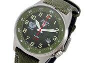 ケンテックスKENTEXJSDFソーラースタンダードメンズ腕時計S715M-01グリーン
