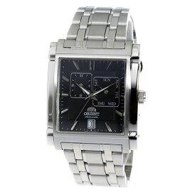 オリエントORIENT自動巻き腕時計SETAC002B0ブラックメンズ
