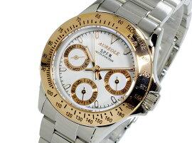 オレオールAUREOLEクオーツレディースクロノグラフ腕時計SW-581L-5