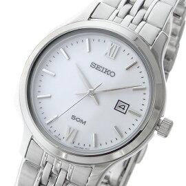 セイコーSEIKOネオクラシックNEOCLASSICクオーツ腕時計SUR711P1ホワイトレディース