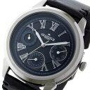【今月特価】【ポイント5倍】(〜6/30) グランドール GRANDEUR プラス PLUS クオーツ 腕時計 GRP004W3 ブラック メンズ