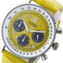 【今月特価】【ポイント5倍】(〜6/30) グランドール GRANDEUR 日本製 made in japan クロノグラフ クオーツ 腕時計 JOSC028W3 イエロー メンズ