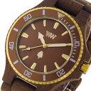 ウィーウッド WEWOOD DATE MB CHOCO ROUGH BROW クオーツ 腕時計 9818151 ブラウン 国内正規 メンズ