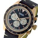【ポイント2倍】(〜6/27 09:59) フォンデリア FONDERIA SALT SPEEDER クオーツ クロノグラフ 腕時計 P-9R011UNW ブラック 9828014 メンズ