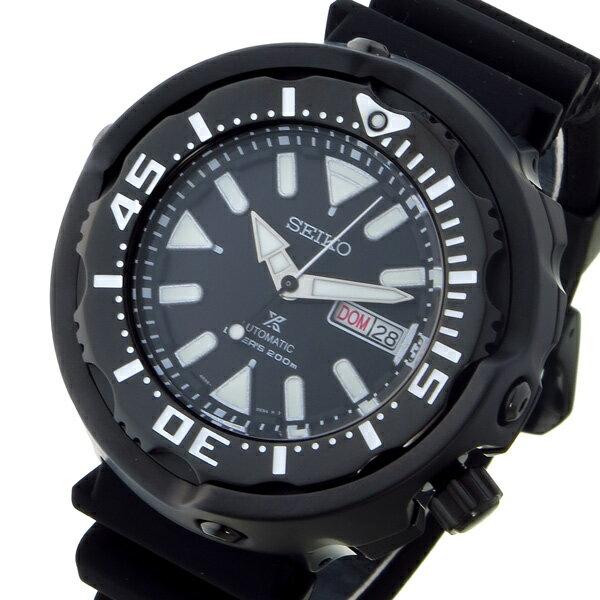 【期間限定】【ポイント2倍】(9/2 19:00〜9/7 01:59) セイコー SEIKO プロスペックス PROSPEX ダイバー 自動巻き 腕時計 SRPA81K1 ブラック メンズ 【代引き不可】:スマートライフ